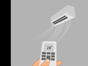 業務用エアコンの設定温度は上げすぎない下げすぎない