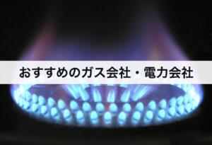ニチガスより安くなる?おすすめのガス会社・電力会社!