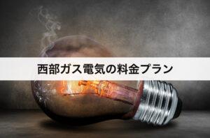 西部ガスの電気の料金プラン|九州電力に比べて高い?安い?