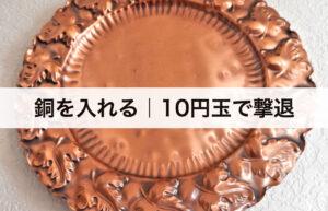 ボウフラ対策② 銅を入れる 10円玉でボウフラ撃退